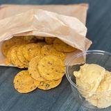 Hummus & Sweet Potato Crackers